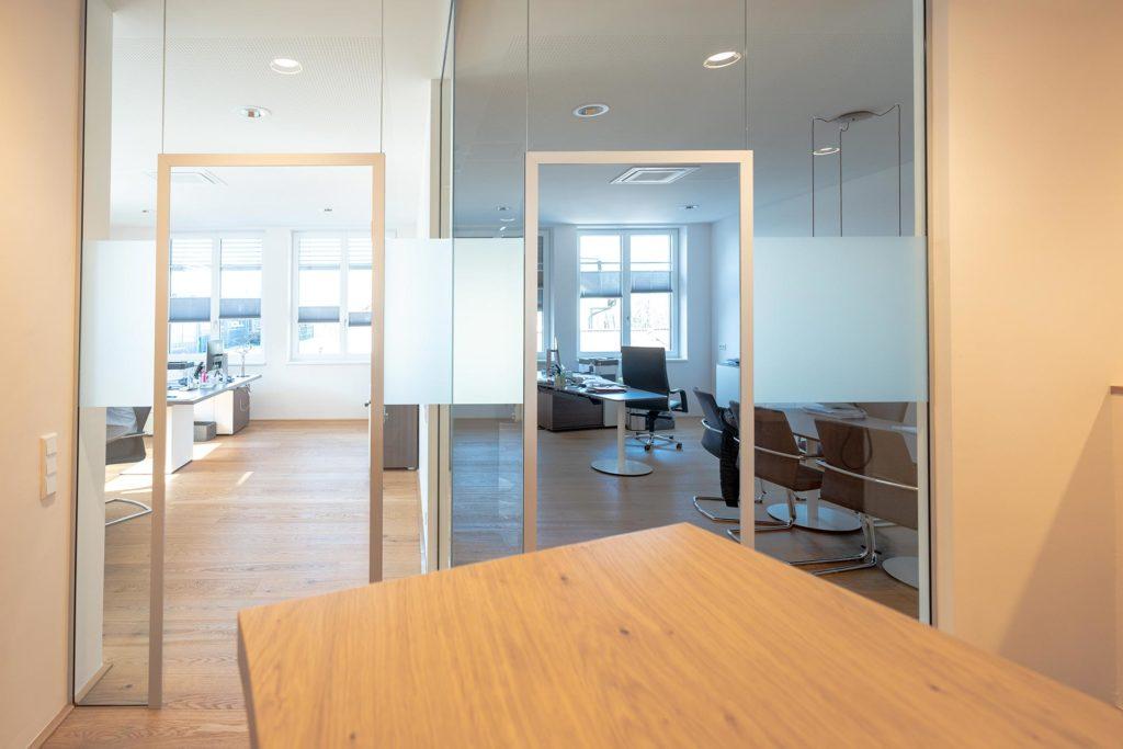 Gewerbebau für Notar Codalonga in Bergheim mit Planungsleistungen von Blaupause Immobilien