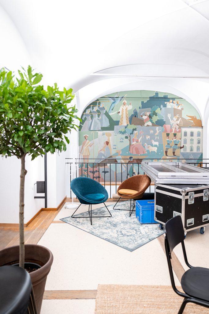 Blaupause_Kapitelsaal_Nov_2020_Gastrobereich_Wandbemalung